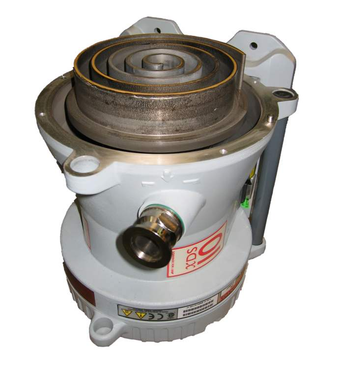 We service scroll vacuum pumps like Edwards XDS10